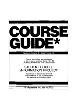 Coursework info guides