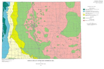 Fargo Minnesota Map.Geological Mapping And 3d Model Of Deposits That Host Ground Water
