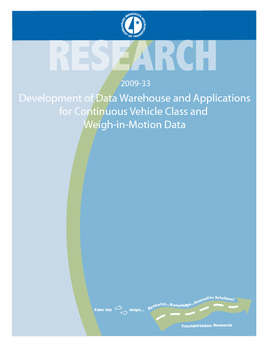 Development of Data Warehouse and Applications for