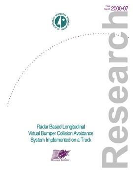 Radar Based Longitudinal Virtual Bumper Collision