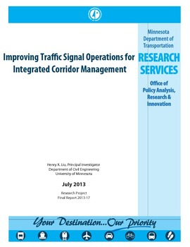 Improving Traffic Signal Operations for Integrated Corridor Management