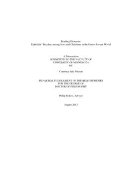 Euripides bacchae pdf