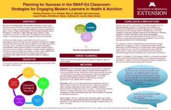 Planning for Success in the SNAP-Ed Classroom: Strategies