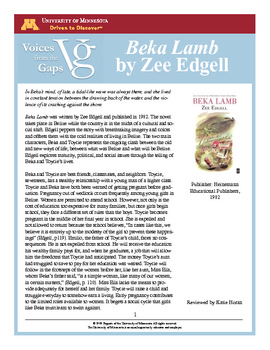 growing up with beka lamb Novel chapter 23 summaries of beka lamb tags: 23, beka, chapter, lamb, novel  did you wet your bed when you were growing up parenting/family.