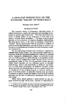 theory of democracy Theories of democracy: a critical introduction is a comprehensive and access-  ible introduction to the main theories of democracy, covering the historical.