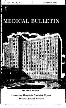 University Hospitals Biennial Report ~lledical School Faculty