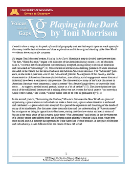 Toni morrison playing in the dark pdf dolapgnetband toni morrison playing in the dark pdf fandeluxe Images