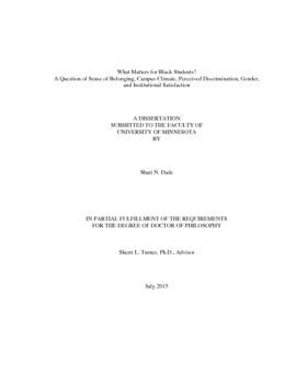 sense of belonging thesis