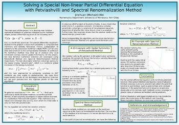 Solving a Special Non-linear Partial Differential Equation with