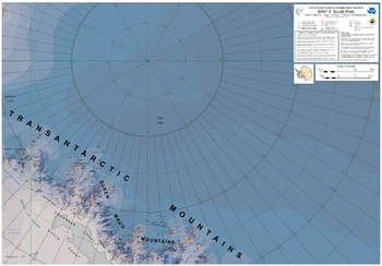 Air Operations Planning Map Series: South Pole