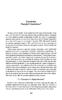Four decades of scientific explanation  [Part 6] Conclusion