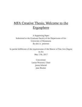 university of minnesota thesis