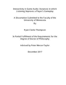 thesis on listening skills