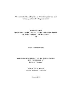 equine dissertation examples