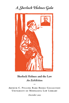 Sherlock Holmes And The Law
