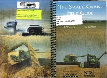 Ndsu Campus Map Pdf.The Small Grains Field Guide