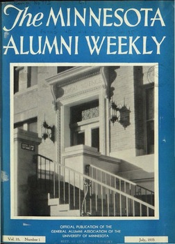 The Minnesota Alumni Weekly: July 1935 - October 19, 1935