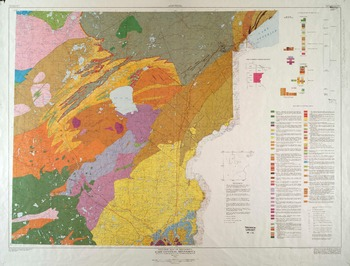 Geologic map of minnesota east central minnesota sheet bedrock geology thumbnail gumiabroncs Images