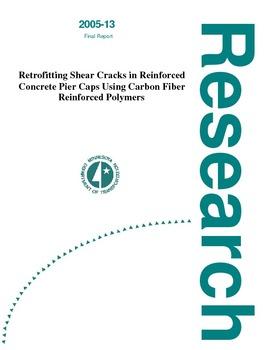 Retrofitting Shear Cracks in Reinforced Concrete Pier Caps Using